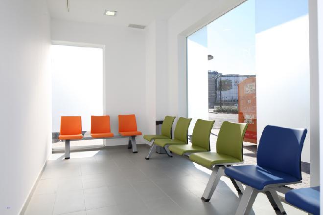 Cortes Valencianas sala de espera