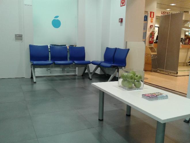ECI Murcia sala de espera