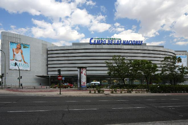 ECI Campo de las Naciones fachada