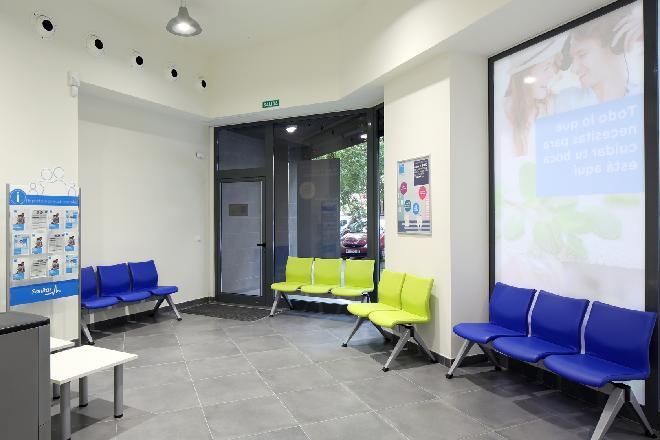 Gaztambide sala de espera