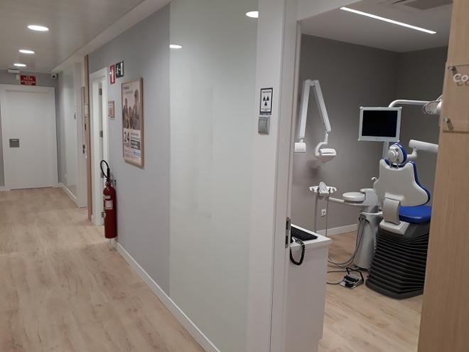 Gran Vía pasillo gabinete