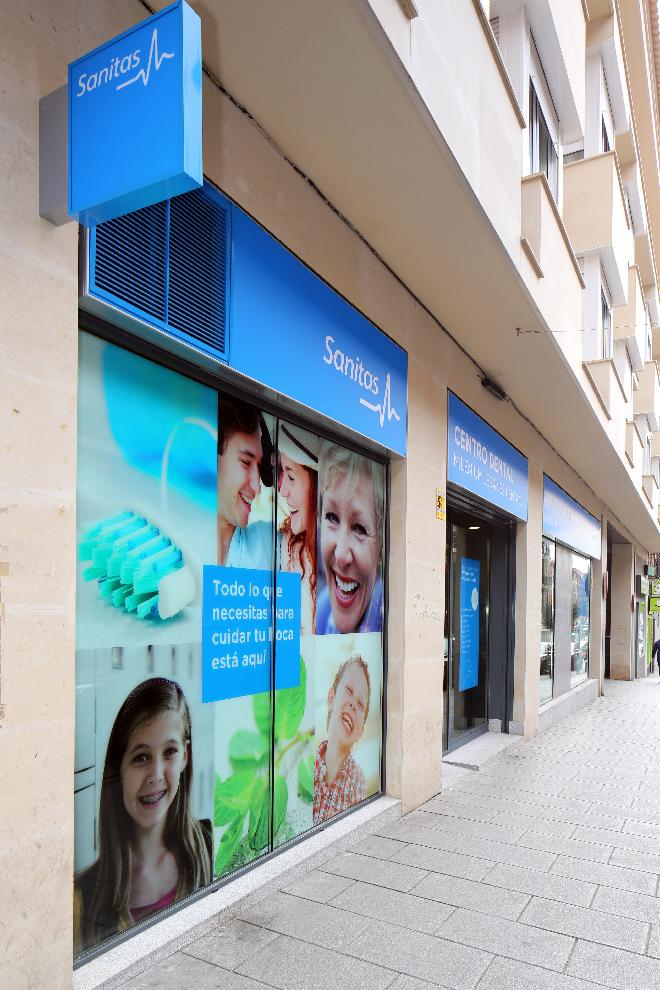 Leganés Centro fachada lateral