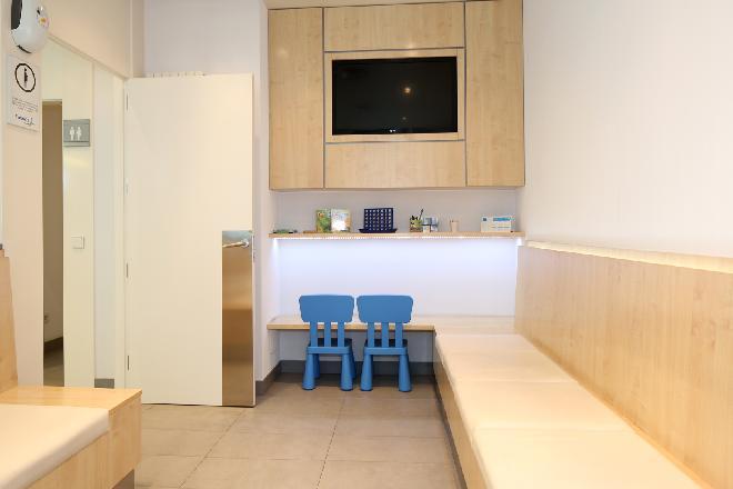 Modesto Lafuente sala de espera