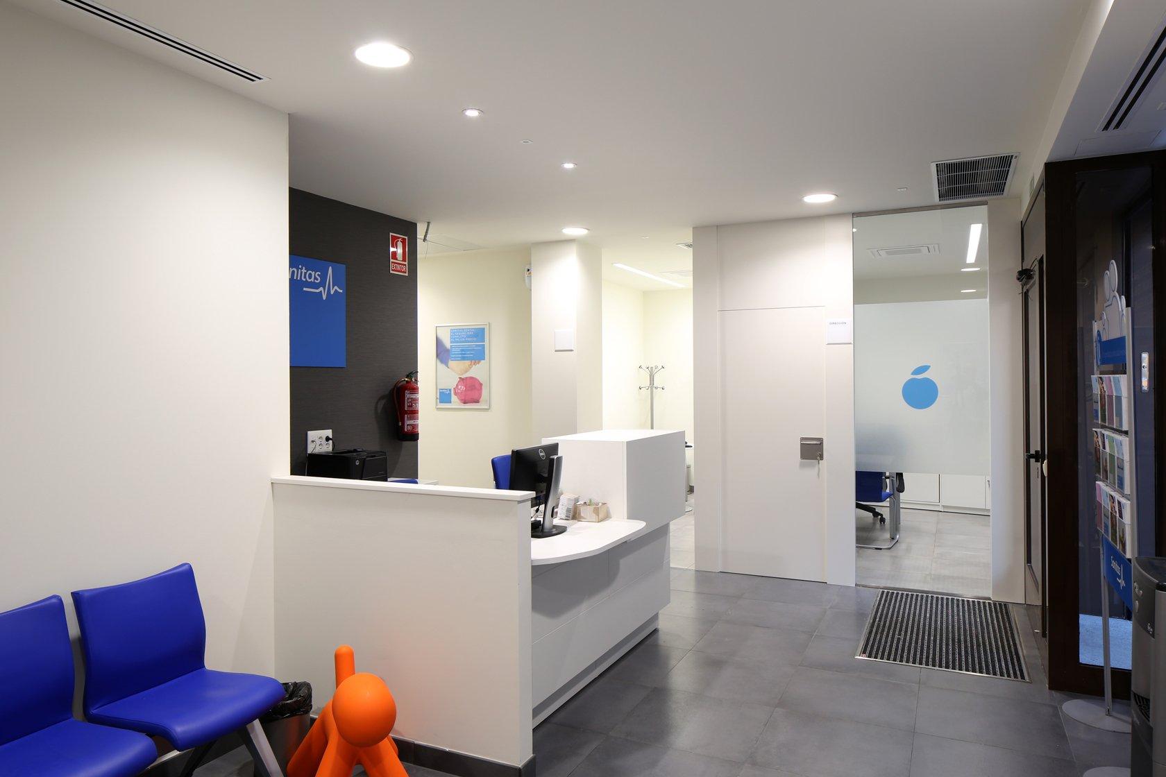 Clinica dental chueca dentistas centro madrid sanitas for Sanitas madrid oficinas