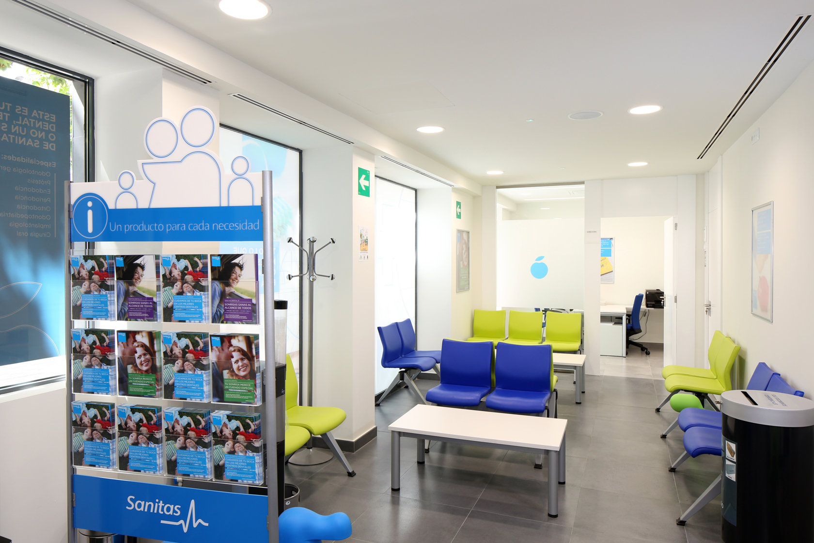 Clinica dental pr ncipe de vergara dentistas for Sanitas madrid oficinas