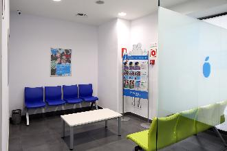 Aranda de Duero sala de espera