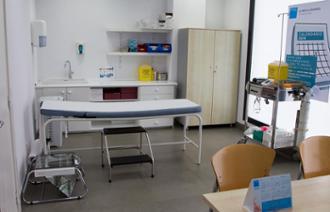Consulta del centro médico Aratza