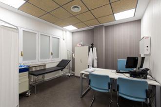 Consulta en el centro médico Conde Duque