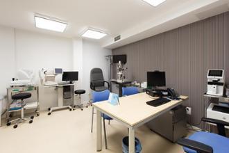 Consulta del centro médico Reina Victoria