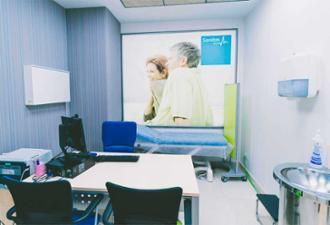 Consulta en el centro médico Nicasio Gallego