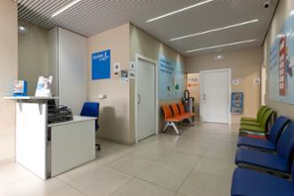 Recepción centro médico La Buhaira