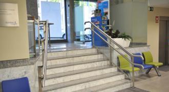 Recepción en el centro médico Zaragoza