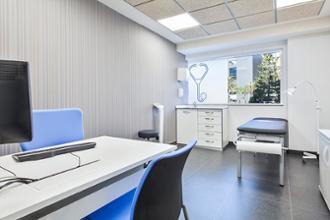 Sala de consulta del centro médico Imperial Tarraco