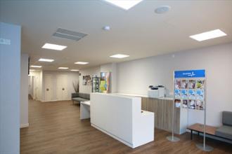 Centro de Bienestar Pozuelo – Recepción- Sala de espera