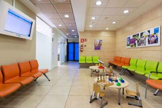 Sala de espera MCM Las Rozas
