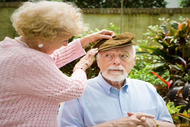 demencia por enfermedad alzheimer