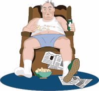 Vida sedentaria y alimentación