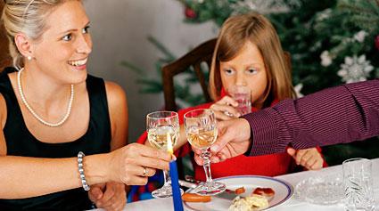 nutrición en Navidad