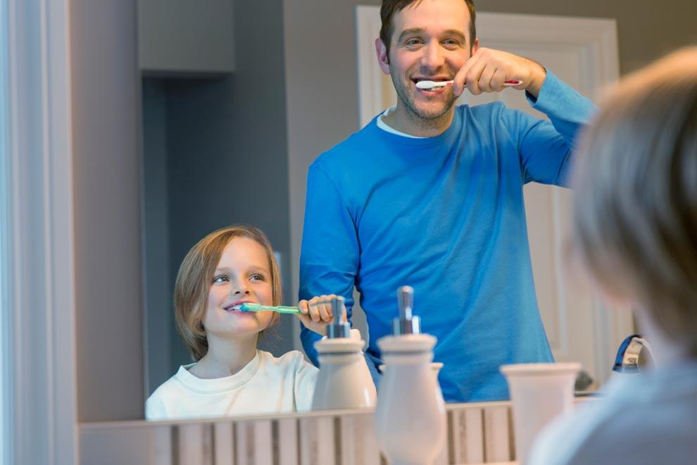 revisión anual dentista