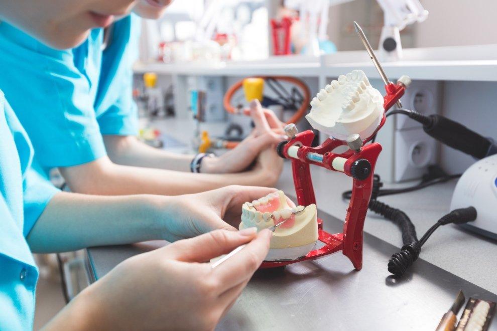 prótesis removible, prótesis parcial removible
