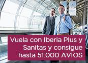 Iberia y Sanitas