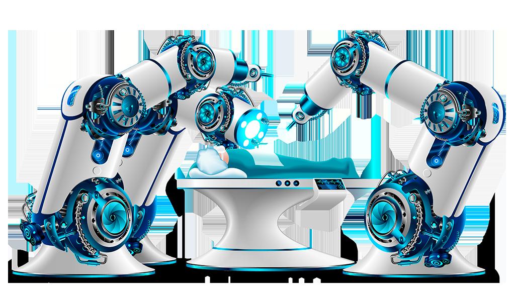 Cirugia robotica da vinci