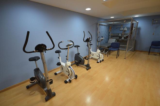residencia mayores sanitas el palmeral gimnasio