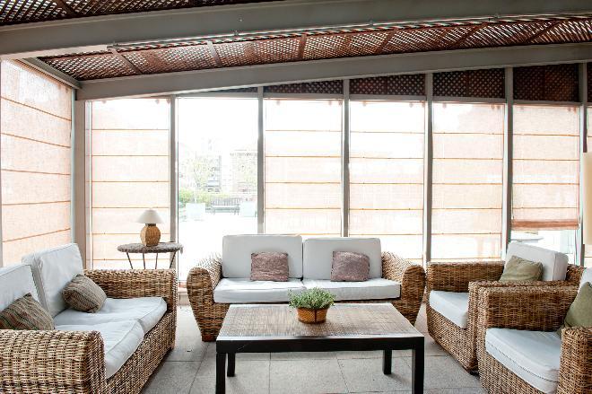 salon terraza residencia mayores el viso sanitas