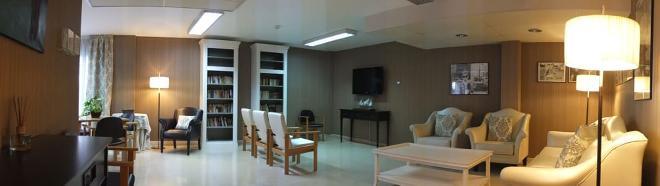 sala estar residencia gerunda sanitas mayores