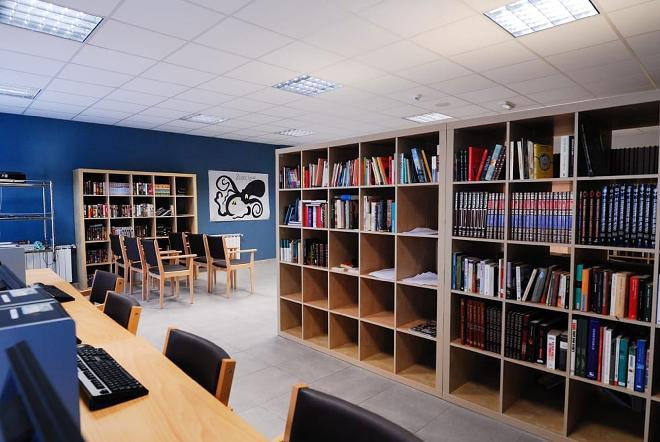 residencia mayores guadarrama biblioteca