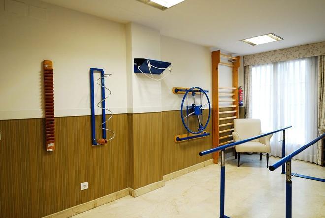 sala terapia residencia mayores puerta de hierro