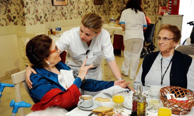 Alimentandión en residencias de sanitas mayores