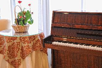 sala piano residencia mayores el viso