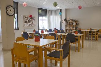 sala polivalente residencia mayores loramendi