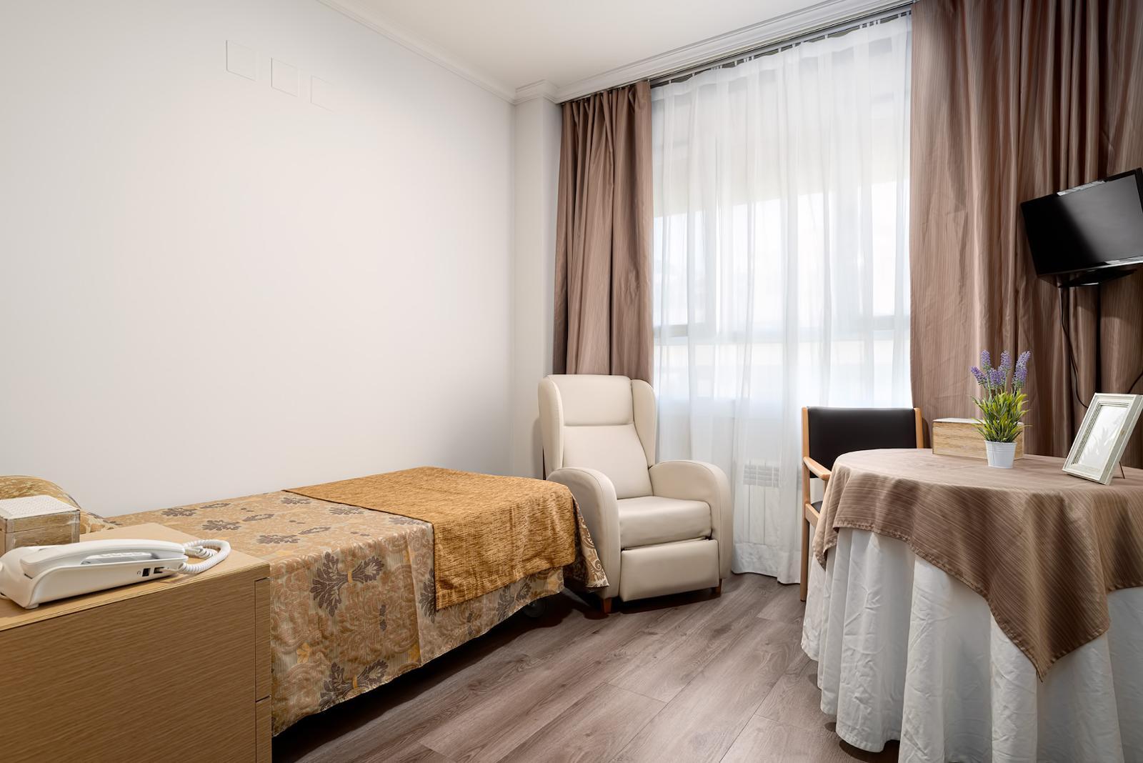 Habitación individual residencia bonaire