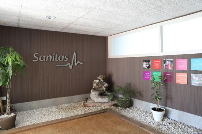 entrada residencia mayores bonaire sanitas