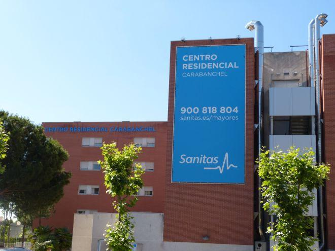 fachada residencia sanitas mayores Carabanchel