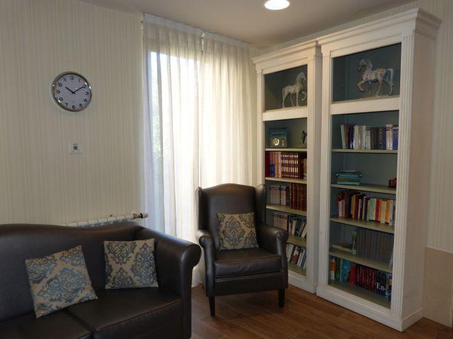 salón 2 residencia mayores ferraz sanitas