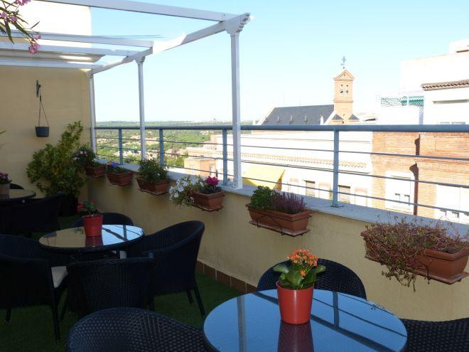 terraza residencia sanitas ferraz