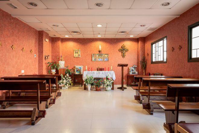 capilla residencia mayores getafe sanitas