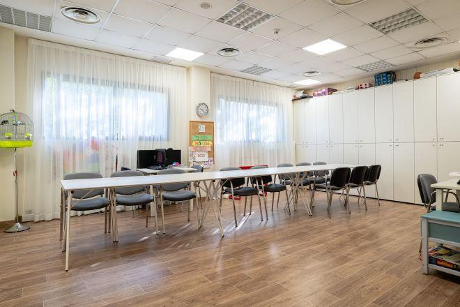 sala terapia residencia mayores getafe sanitas