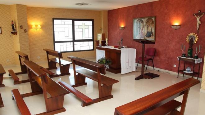 capilla residencia mayores zaragoza