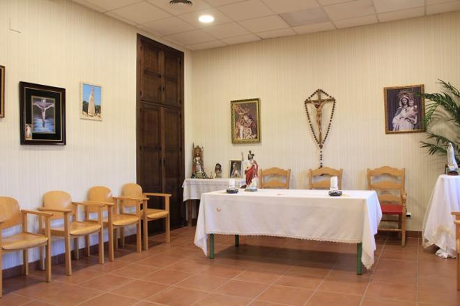 capilla residencia mayores linares
