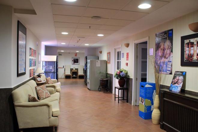 cafeteria residencia mayores linares
