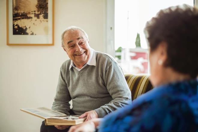 Llegada residencias para ancianos Sanitas Mayores