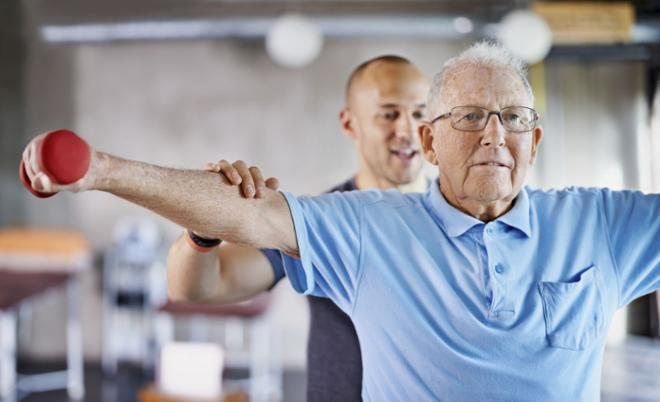 Rehabilitación tras ictus - Terapia física