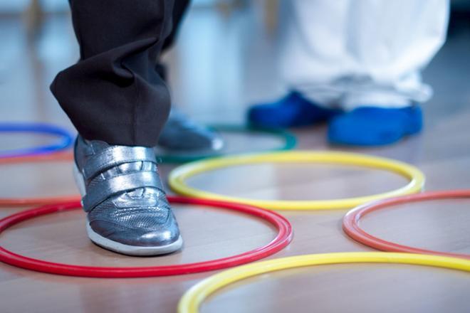 rehabilitación de rodilla en mayores