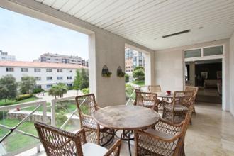 terraza residencia mayores sanitas a coruna