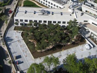 Vista aérea de la residencia de mayores Sanitas Colmenar Viejo