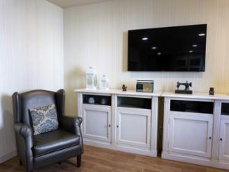 zona de salón residencia sanitas ferraz